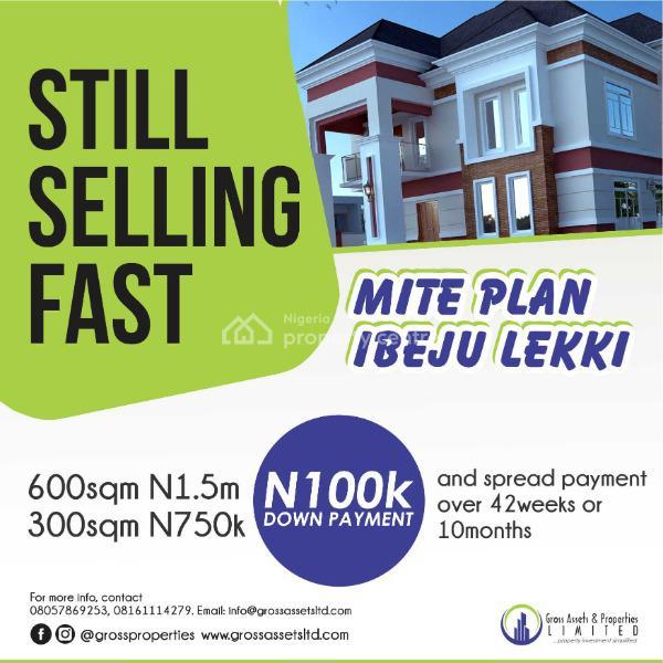 Own a Plot with 10 Months Installments, Eleranigbe, Ibeju Lekki, Lagos, Land for Sale