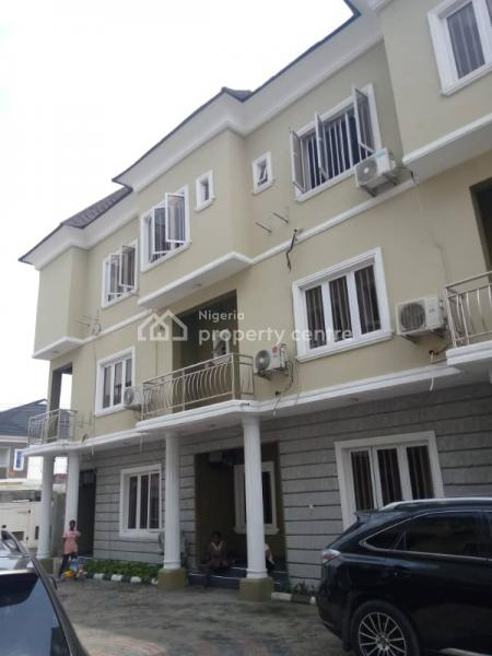 Luxurious 3 Bedrooms Serviced Apartment with a Bq, Osapa, Lekki, Lagos, Flat for Rent