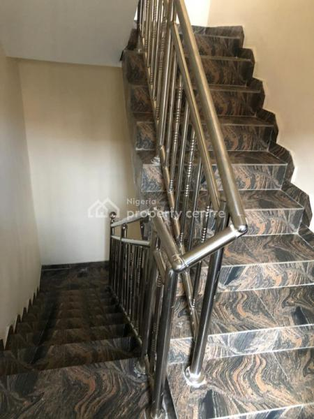 Newly and Tastefully Finished 4 Bedroom Terrace, Penisula Garden Estate, Few Houses Away From Police Post, Sangotedo, Ajah, Lagos, Terraced Duplex for Rent