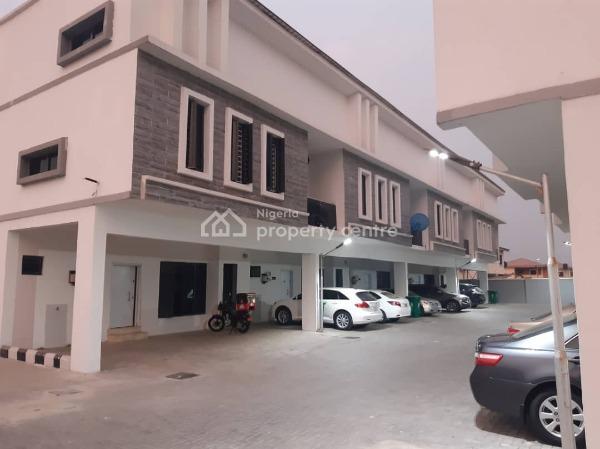 Beautiful 3 Bedrooms Terraced Duplex, Lekki Phase 2, Lekki, Lagos, Terraced Duplex for Rent