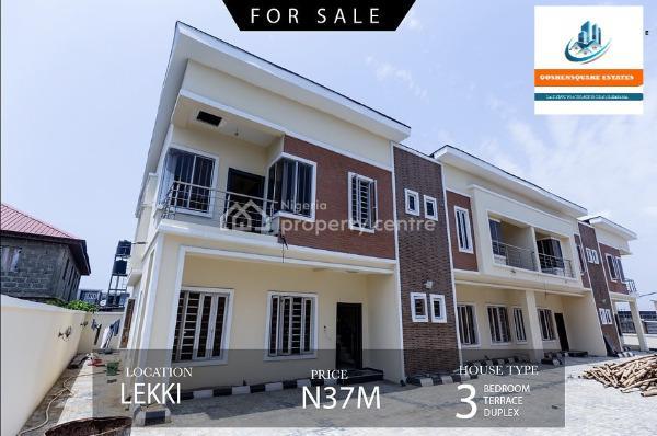 3-bedroom Terraced Duplex, Ikota, Lekki, Lagos, Terraced Duplex for Sale