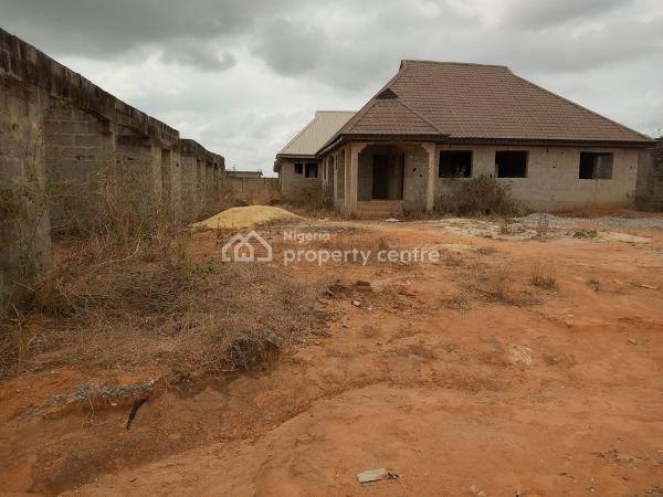 a Uncompleted 4 Bedroom Bungalow, Igbe - Igbogbo Road, Ikorodu, Igbogbo, Ikorodu, Lagos, Detached Bungalow for Sale