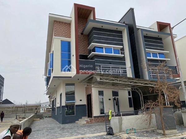 Smart Home: 5 Bedroom Detached Duplex with Bq, Orchid Hotel Road, Lafiaji, Lekki, Lagos, House for Sale