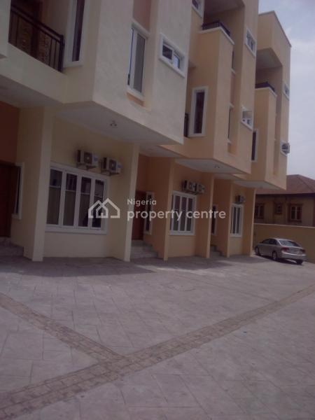7 Units of 5 Bedroom Service Furnished Luxury Terrace  Duplex with Bq, Inside Akora Estate, Adeniyi Jones Ikeja Lagos, Adeniyi Jones, Ikeja, Lagos, Terraced Duplex for Sale