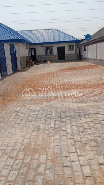 Nice 5bedroom Bungalow Office Space on 2 Plots of Land, Bode Thomas, Surulere, Lagos, Detached Bungalow for Rent