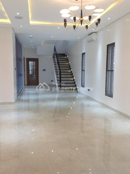 New Built Luxury 5 Bedroom Terrace with Excellent Facilities, Off Olabanje Olajede Stret, Lekki Phase 1, Lekki, Lagos, House for Rent