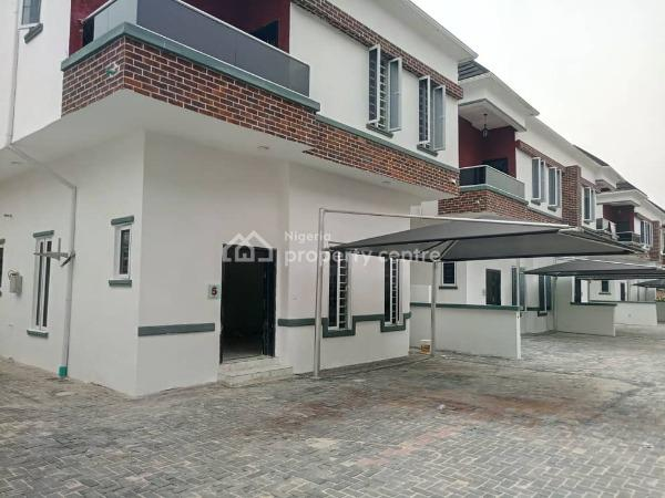 Residential Estate with Existing Infrastructure, Daniel Garden Estate, Before Chevron, Osapa, Lekki, Lagos, Semi-detached Duplex for Sale