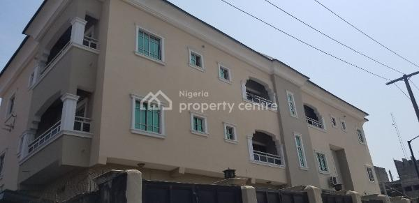 Luxury 3bedroom Flat with All Rooms Ensuite, Ebute Metta East, Yaba, Lagos, Flat for Rent