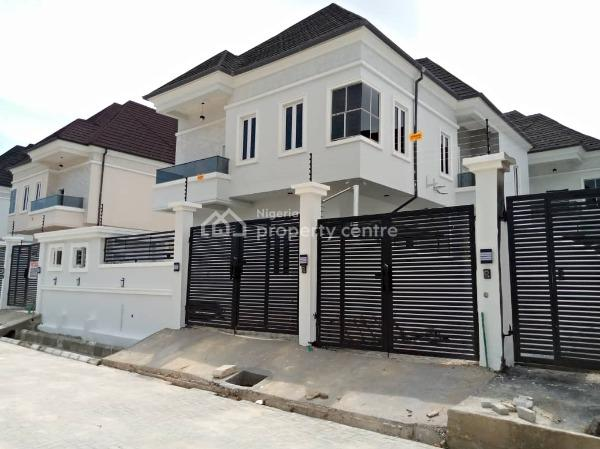 Luxury Finished 4 Bedroom  Fully Detached Duplex with Bq, Chevron  Alternative Drive, Lekki, Lagos, Detached Duplex for Sale