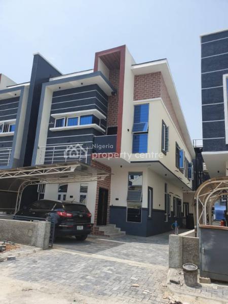 Switchless Smart 4 Bedroom Semi Detached with Bq, Buena Vista Estate By Chevron Toll Gate By Orchid Hotel Road, Lekki, Lafiaji, Lekki, Lagos, Semi-detached Duplex for Sale