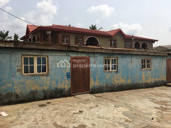 Setback 3 Bedroom Bungalow on a Full Plot of Land, Idimu/ejigbo Road, Ejigbo, Lagos, House for Sale