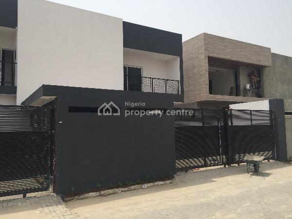 Unique Luxury 4 Bedroom Semi/detached Duplex!, Off Ajiran Rd, Agungi, Lekki, Lagos, Detached Duplex for Sale