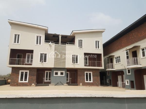 Brand New 4 Bedroom Terrace Duplex, Ish Justd About 20 Mins Drive to Roundabout, Allen, Ikeja, Lagos, Terraced Duplex for Sale
