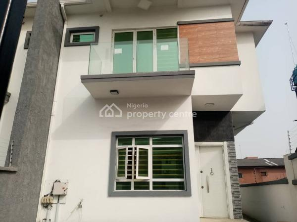 Luxury 4 Bedroom Semi-detached Duplex with a Bq, Osapa London, Osapa, Lekki, Lagos, Semi-detached Duplex for Sale