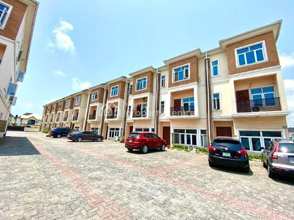 New Property, Osapa, Lekki, Lagos, Terraced Duplex for Rent