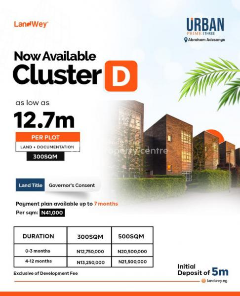 Urban Prime Estate Land, Off Abraham Adesanya Road, Ajah, Lagos, Residential Land for Sale