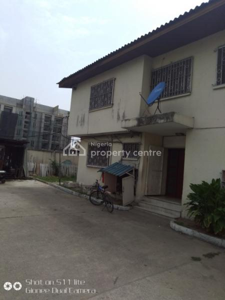 4 Bedroom Detached House Plus 2 Rooms Bq with Enough Parking Space, Off Akin Adesola Road, Victoria Island (vi), Lagos, Detached Duplex for Rent