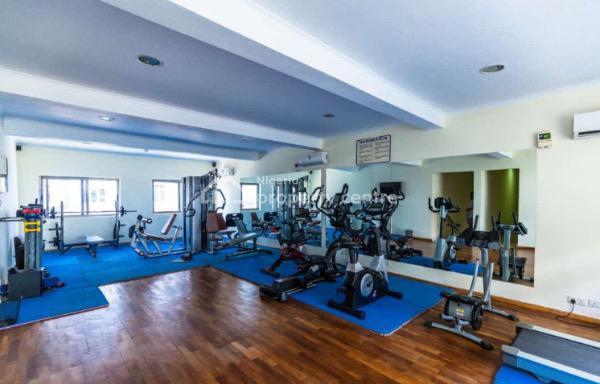 Super Luxury 3 Bedroom Apartment with Pool & Gym, Onigefon Road Off Palace Way, Oniru, Victoria Island (vi), Lagos, Flat Short Let