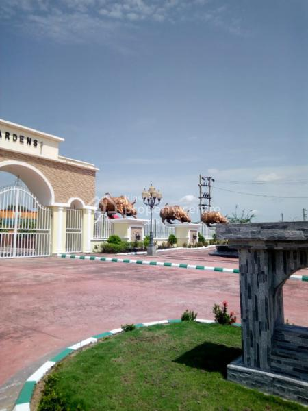 Land, Manhattan Park and Gardens Beside Caleb University, Abuja-keffi Expresssway, Uke District., Karu, Abuja, Mixed-use Land for Sale