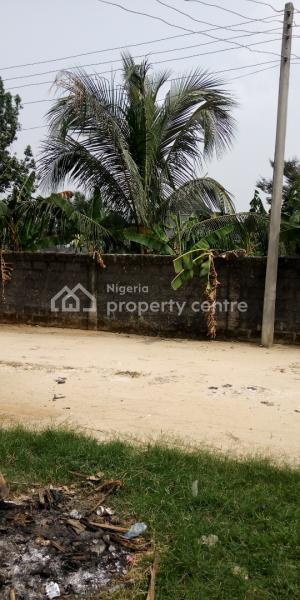 Buy and Build 1 and Half Plots of Land, Rumuwhara New Road, Obio-akpor, Rivers, Residential Land for Sale