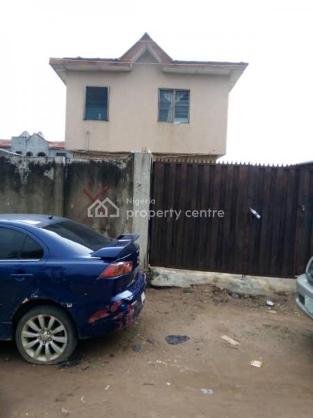 Block of 4 Flats, Adebari Street, Iyana Ekuro Busstop, Meiran, Meiran, Agege, Lagos, Block of Flats for Sale