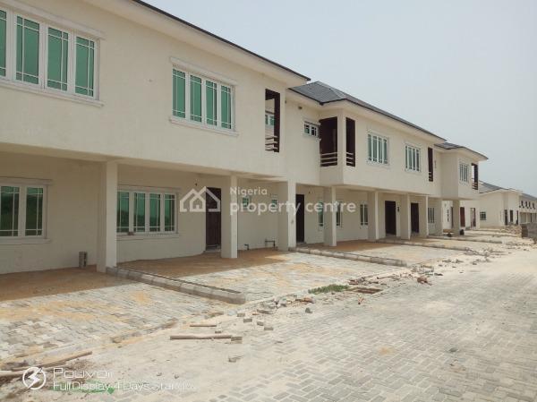 Lovely 4 Bed Terrace, Buy & Do The Finishing Yourself for Taste, Meridian Park Estate, Awoyaya, Ajah, Lagos, Terraced Duplex for Sale