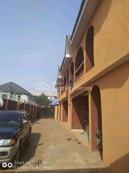 Block of 4 Flats of 3 Bedroom+ 3 Bedroom Bungalow on 720sqm, Off Ejigbo-idimu Road, Ejigbo, Lagos, Block of Flats for Sale