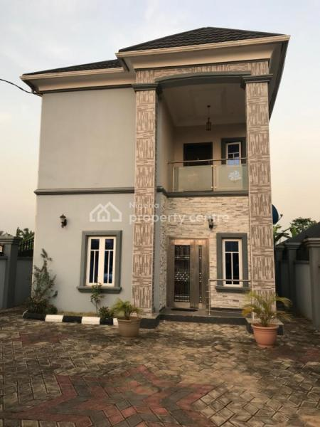 5 Bedroom Detached Duplex with a Bq, Nuj Estate Just 15 Mins Drive to Isheri, Gra, Magodo, Lagos, Detached Duplex for Sale
