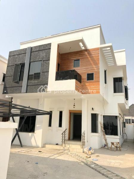 Beautiful and Upscale 5 Bedroom Detached Duplex with Bq, Chevron, Lekki, Lagos, Detached Duplex for Sale