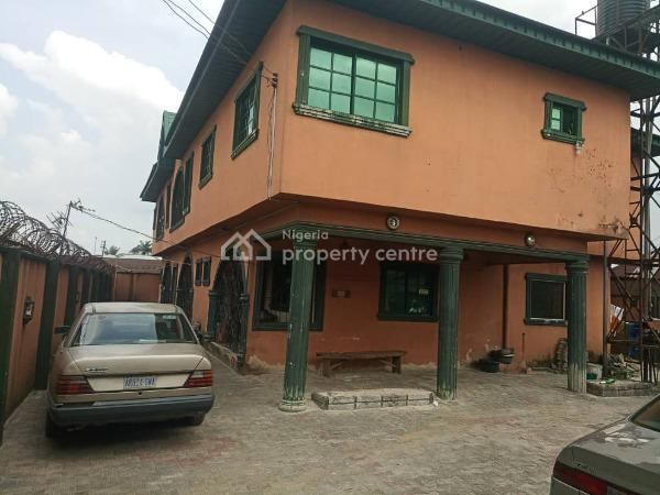 Storey Building of 5 Flats, Agbarho Town, Ughelli North, Delta, House for Sale