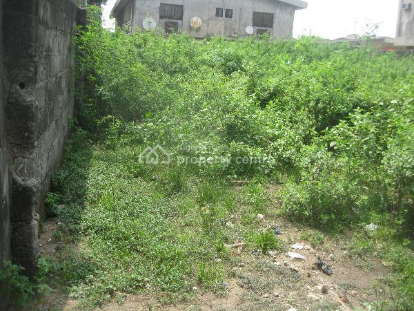 Half Plot of Land, Teniola Street Aguda, Ijesha, Surulere, Lagos, Residential Land for Sale