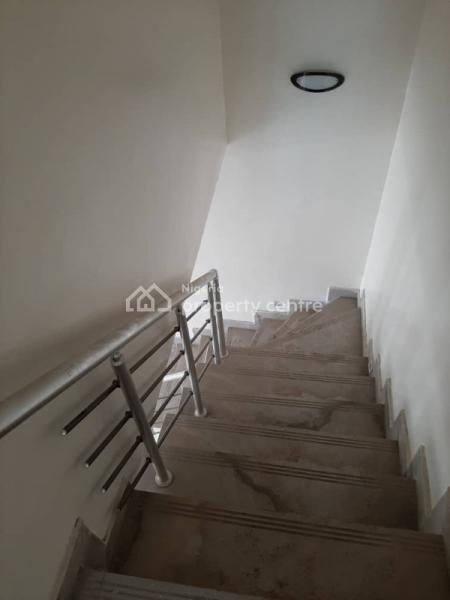 Serviced and Brand New 4 Bedrooms Semi Detached Duplex with a Bq, Chevron, Lekki, Lagos, Semi-detached Duplex for Rent