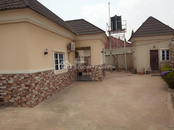 a Well Finished 4 Bedroom Bungalow with 1 Room Self Contained, Abacha Road Around Dudu Juice Company, Karu, Nasarawa, Detached Bungalow for Sale