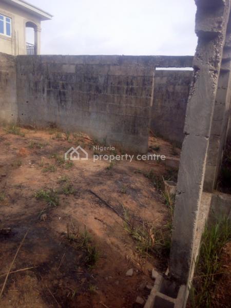 an Uncompleted Bungalow of 4 Bedroom and 2 Bedroom Flats., Kajola, Magboro B4 Mfm Prayer City, Off Lagos /ibadan Express Way Ogun, Magboro, Ogun, Detached Bungalow for Sale
