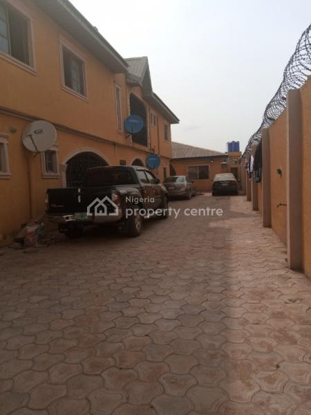 Lovely 40 Nos of 3 Bedroom Flat with 3 Bedroom Bungalow Set Back, Peace Estate Magboro, Magboro, Ogun, Flat for Sale
