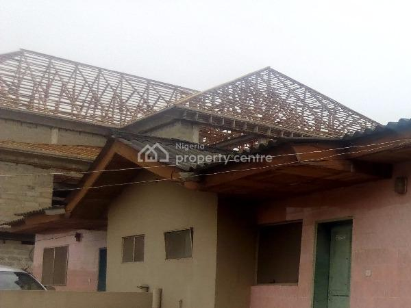2 Numbers 4 Bedroom Bungalow with 2 Numbers Mini Flat, 422 Rd 6th Avenue Festac Extension, Festac, Isolo, Lagos, Detached Bungalow for Sale