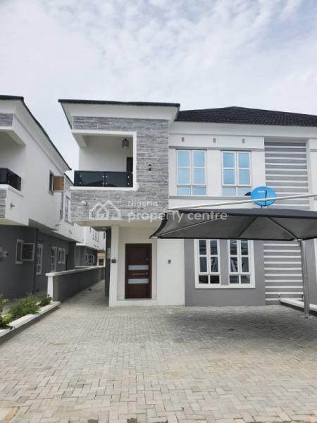 Lovely 4 Bedroom Semi Detached Duplex with a Bq, Orchid Hotel Road By Chevron Toll Gate, Lafiaji, Lekki, Lagos, Semi-detached Duplex for Rent
