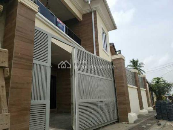 3 Bedroom Duplex + Movie Room, Abule Egba, Ikeja, Lagos, Semi-detached Duplex for Sale