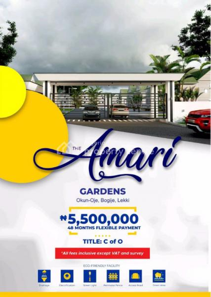 Dry Plots of Land, Amari Estate, 3 Mins Drive From The Express, Epe, Lagos, Residential Land for Sale