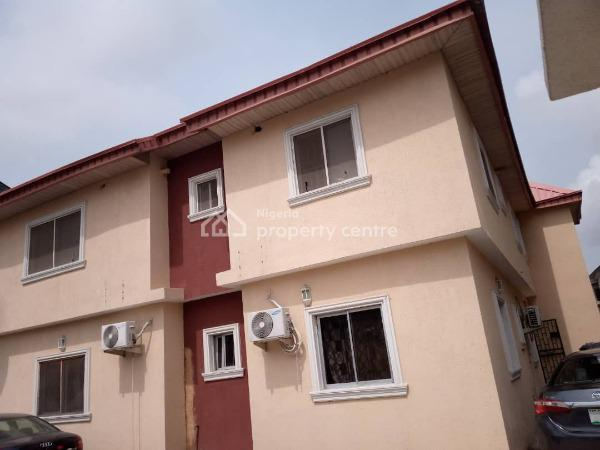Well Maintained and Spacious 3 Bedroom Apartment, Canal West Estate, Osapa, Lekki, Lagos, Flat for Rent