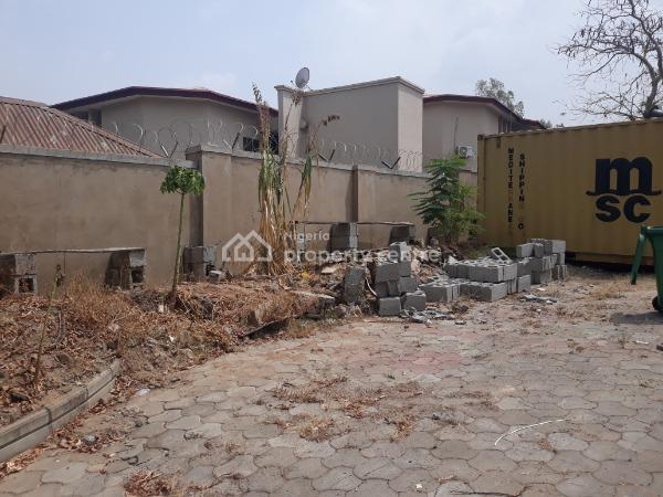 Fenced Residential Land with Small Boys Quarters, Off Aminu Kano Crescent, Wuse 2, Abuja, Residential Land for Sale