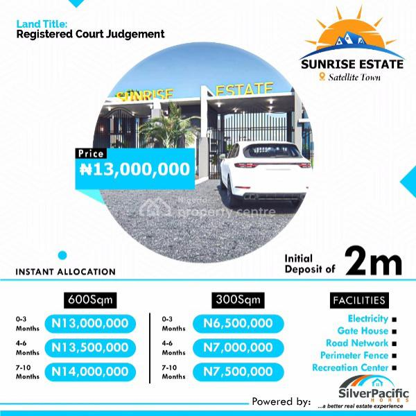 Serene and Fast Developing Residential Land in The Heart of Excellence, Satellite Town, Ojo, Lagos, Residential Land for Sale