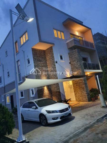 Luxurious 5 Bedroom Fully Detached House on 3 Floors with Bq Attached, Mabuchi By Mobil Filling Station, Abuja, Mabuchi, Abuja, Detached Duplex for Sale