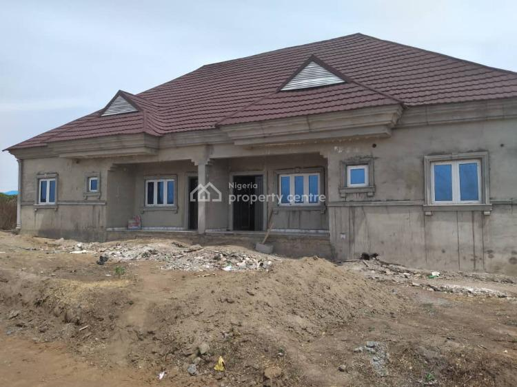 3 Bedrooms Semi Detached Bungalow, Palm Height Estate, Along Trademore, Lugbe District, Abuja, Semi-detached Bungalow for Sale