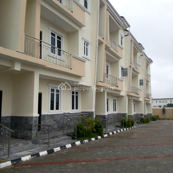 4 Bedroom Terraced House with Generator, Guzape District, Abuja, Terraced Duplex for Rent