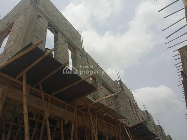 Newly En-suite, Furnished 4 Bedroom Terrace Duplex with Facilities, Creek Avenue Court,ikota, Lekki, Lagos, Terraced Duplex for Sale