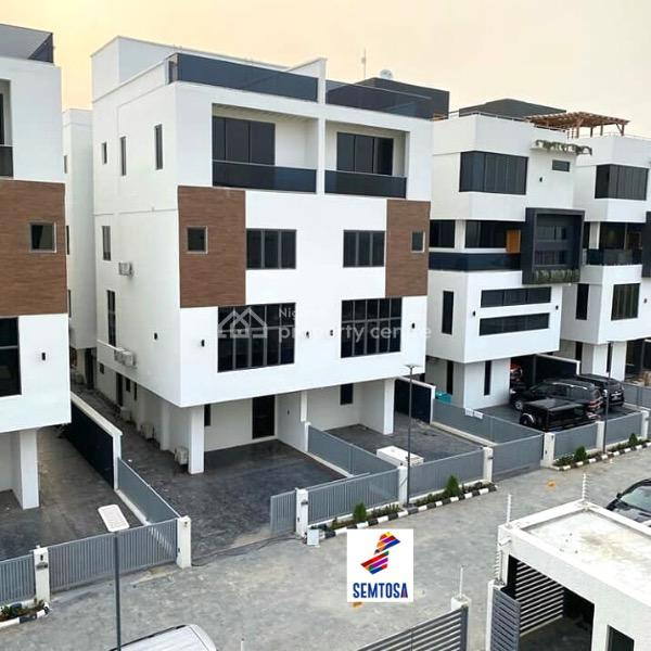 5 Bedrooms Semi Detached House with Pool and Bq, Banana Island, Ikoyi, Lagos, Semi-detached Duplex for Sale