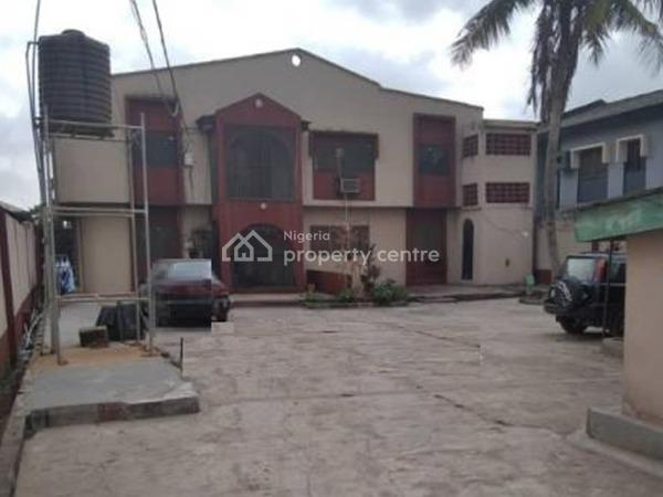 Block of 2 Units of 3 Bedroom Flats Up and 1 Unit of 4 Bedroom Downstairs, Ago Palace, Isolo, Lagos, Block of Flats for Sale