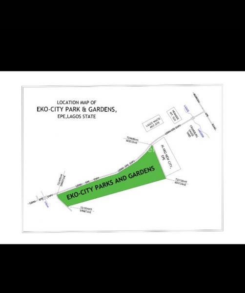 Land, Along Lekki-epe Express,beside Alaro City, Epe, Lagos, Mixed-use Land for Sale