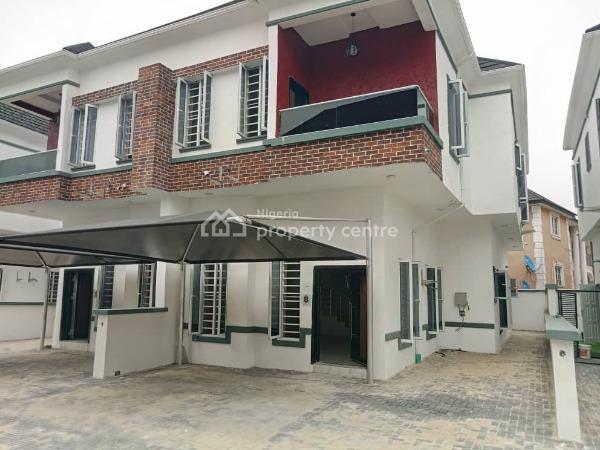 Newly Built 4 Bedroom Semi Detached Duplex with C of O, Osapa, Lekki, Lagos, Semi-detached Duplex for Sale
